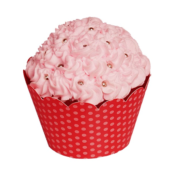 "Red Dots Cupcake Wrapper Pkg - 2 X 2 - Cardboard Diameter - 2 """" - Quantity: 50 Type: 1 Side by Paper Mart"" 85941130P"