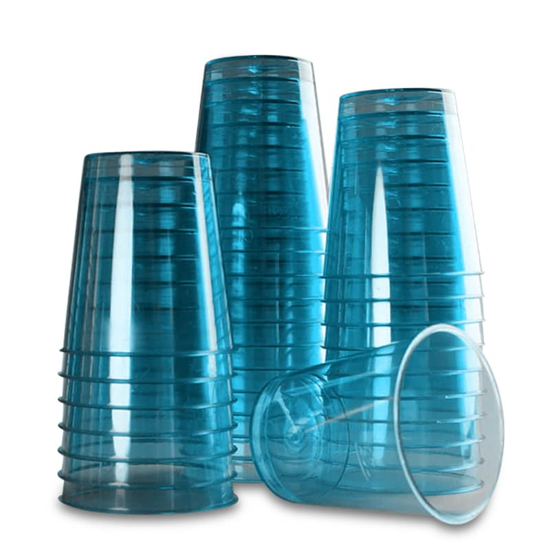 "1-1/2"""" Turquoise Plastic Shot Cup (30/Pack) Colored Diameter - 1 1/2"""" - Household Supplies - Override_Baseuomqty: 30 by Paper Mart"" 96169176"
