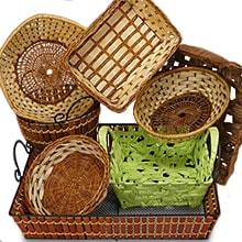 Woven Baskets u0026 Trays Gift ... & Baskets for Gifts : Baskets Shred u0026 Shrink Wrap