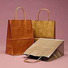Paper Handle Shopping Bags