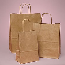 Kraft Shopping Bags | Shop Paper Bags at Paper Mart
