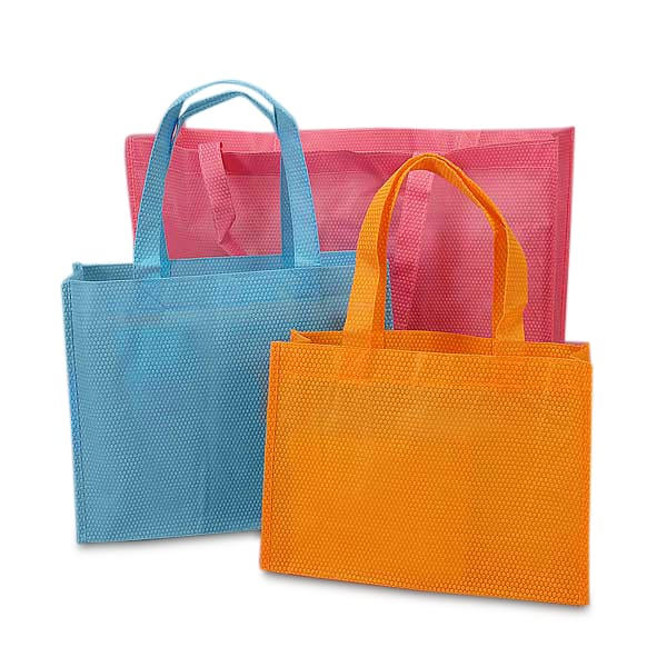 Honeycomb Embossed Reusable Bags
