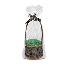 Pinched Bottom Basket Bags