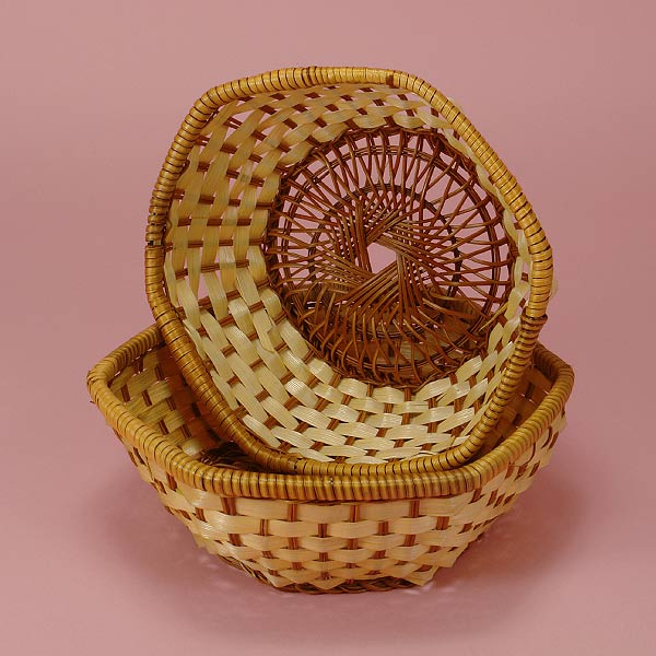 Hexagonal Bamboo Baskets