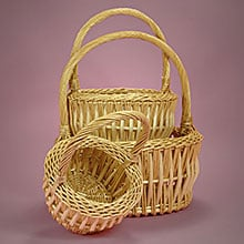 Willow Handle Baskets