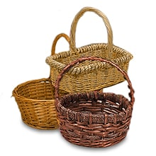 woven baskets trays paper mart