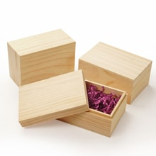 Wooden Boxes Small Unfinished Wholesale Boxes With Lids Paper Mart