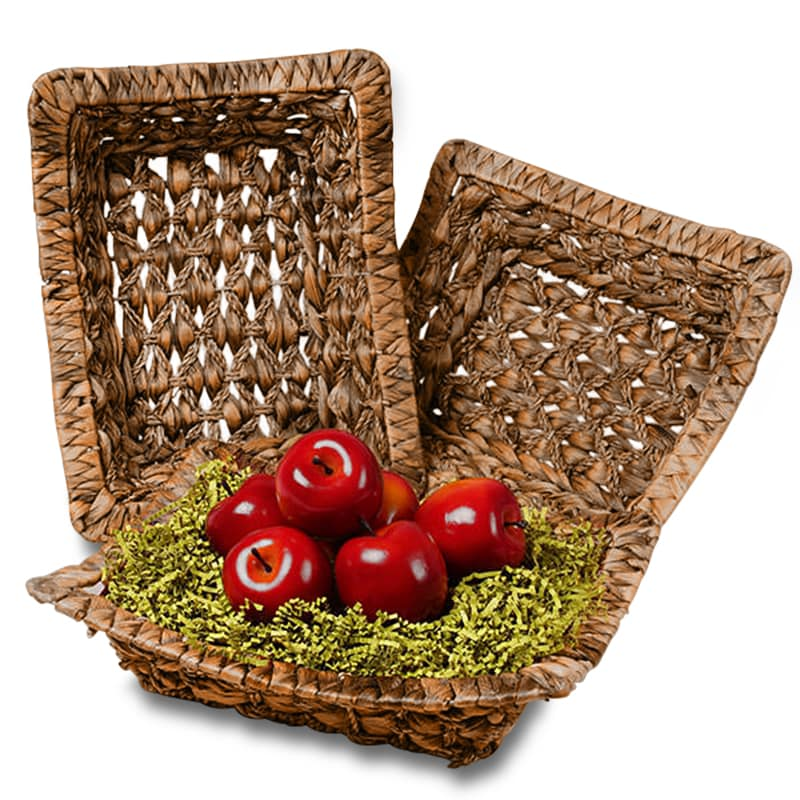 Seagrass Rectangular Basket Trays