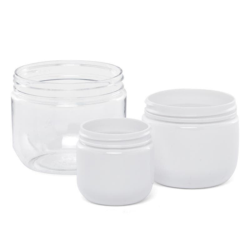 Pet Plastic Dome Containers (No Lid Or Cushion Pad)