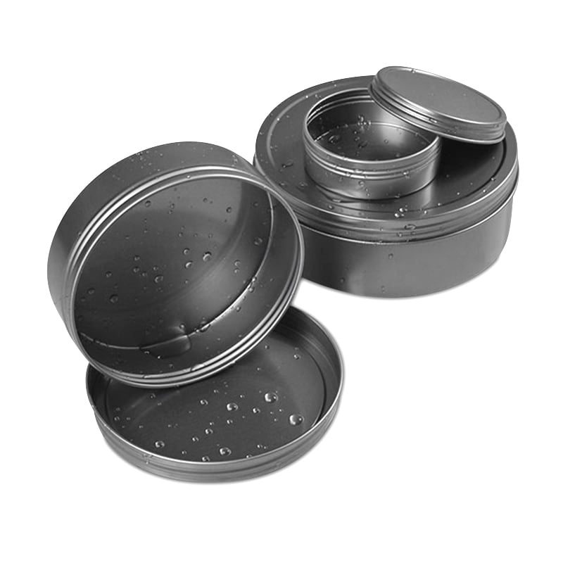 Rust Resistant Screw Lid Tin Cans