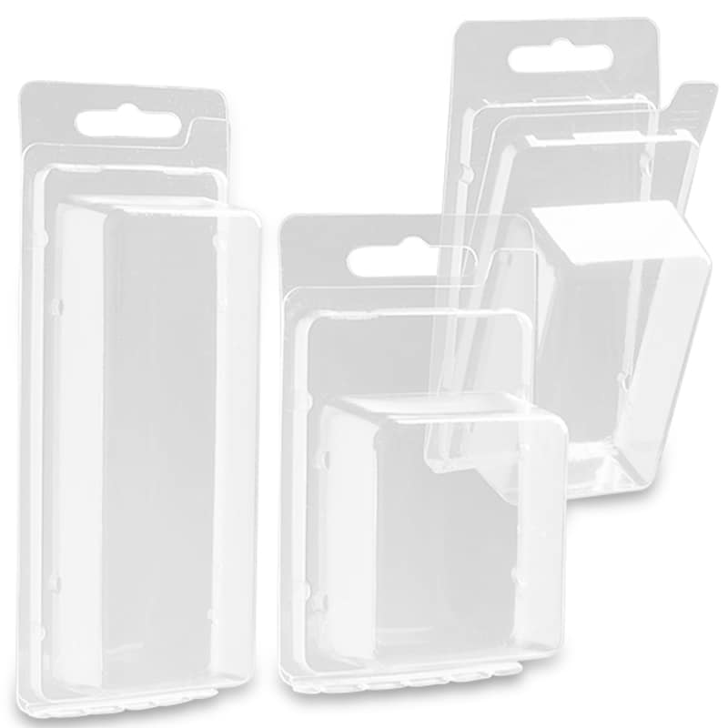 Plastic Clamshell Boxes With Hangers