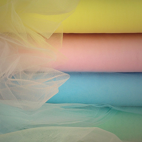 Premium Colored Tulle In Bolts