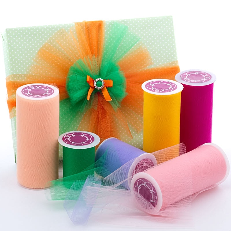 Premium Colored Nylon Tulle In Rolls