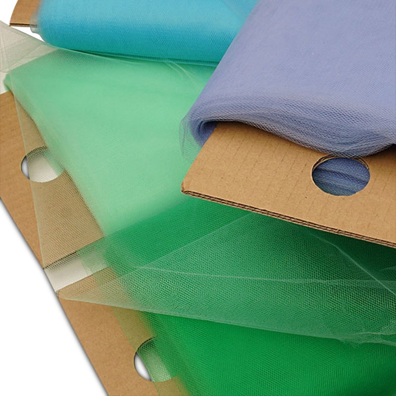 Economy Colored Polyester Tulle In Bolts