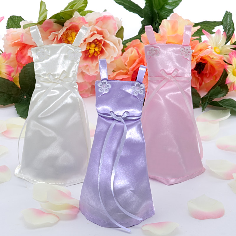 Wedding Dress Favor Bags