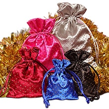 54133a264 Satin Bags: Wholesale Silk Pouches with Drawstrings | Paper Mart