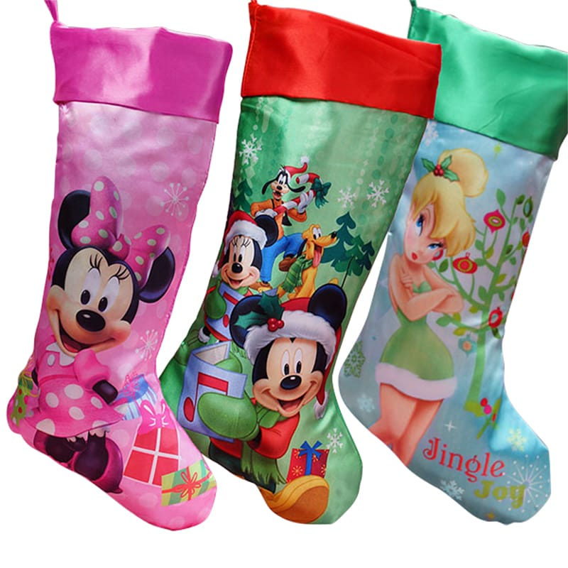 disney characters christmas stockings