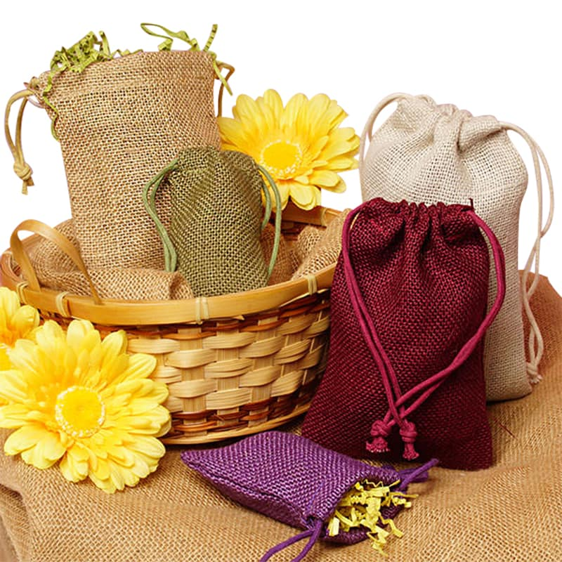 Colored burlap fabric bags for Colored burlap fabric
