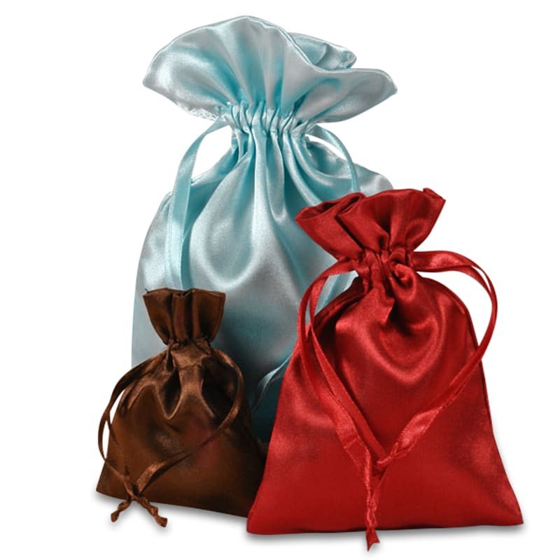 Treat Your Gifts And Small Favors With These Elegant Satin Bags Made Thick Luxurious A Coordinating Drawstring Can