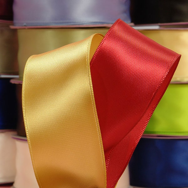 Wide Gold Wired Ribbon | Wired Ribbon Makes A Stunningly Wrapped Gift