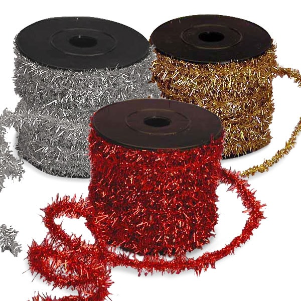 Metallic Chenille Wired Cord