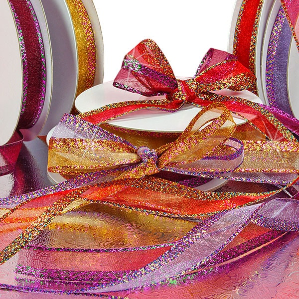 Sparkle Edge Organza Ribbon