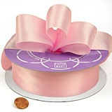 Satin Polyester Ribbons - Lt. Pink