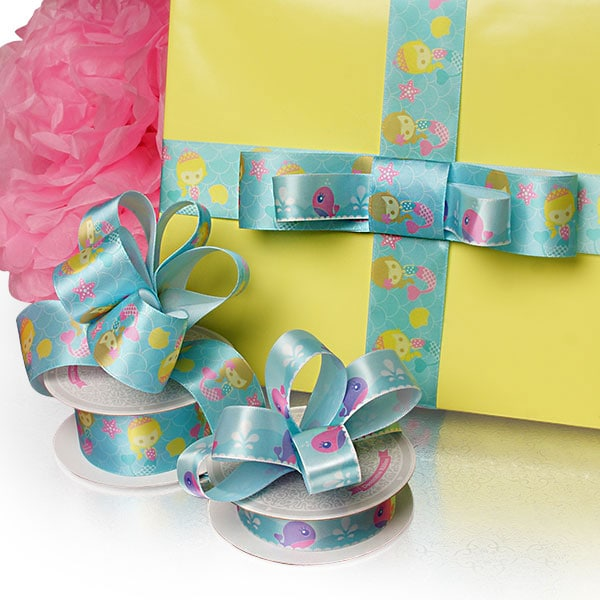 Kids Themed Satin Ribbon