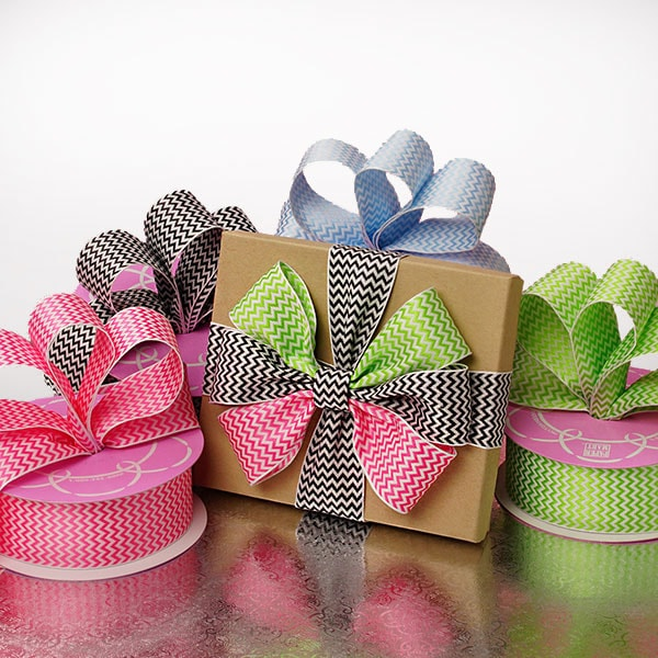 Mini Chevron Woven Ribbon