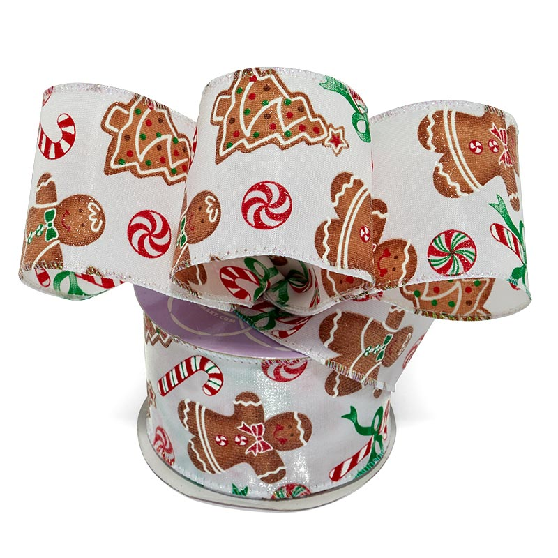 christmas wired ribbon collection - Christmas Wired Ribbon