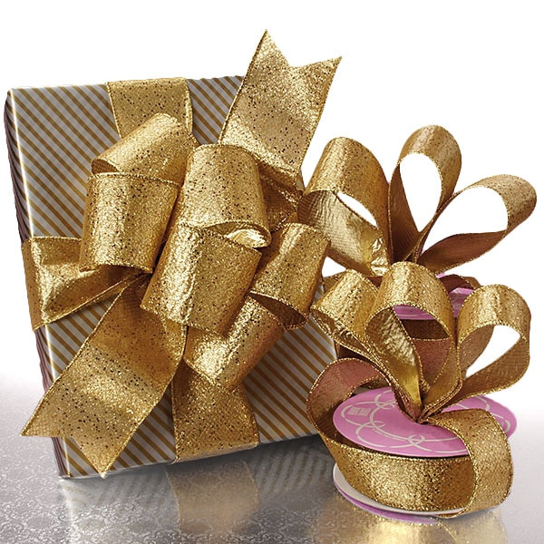 Gold Stanton Heavy Metallic Ribbon