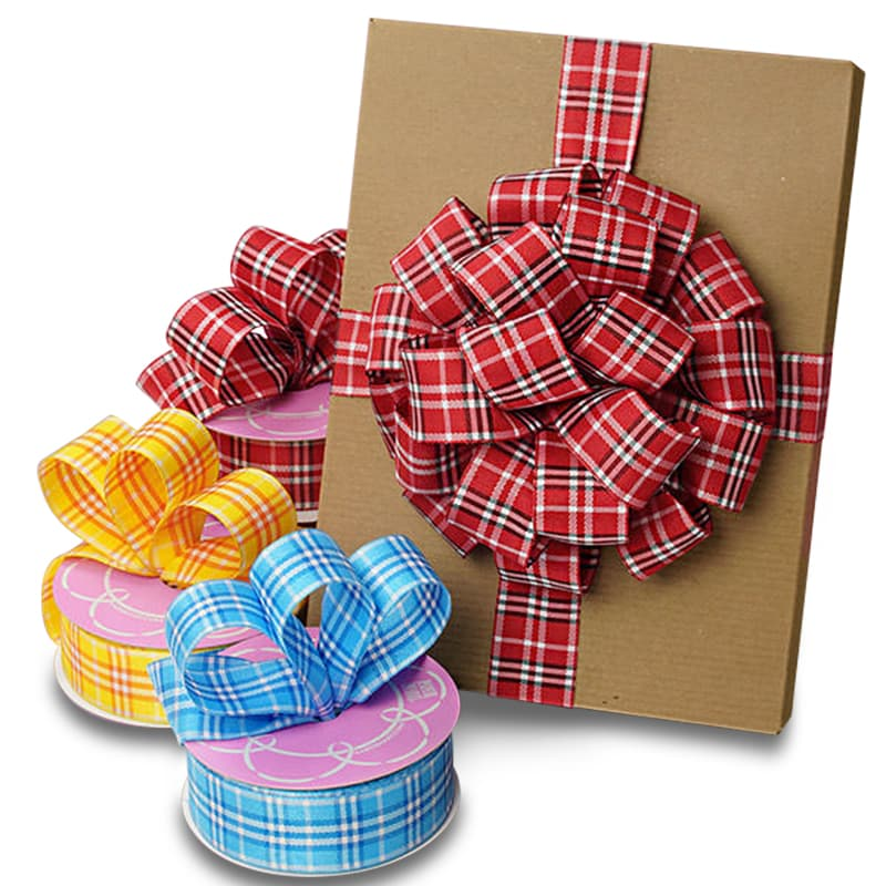 Peggy Plaid Ribbon