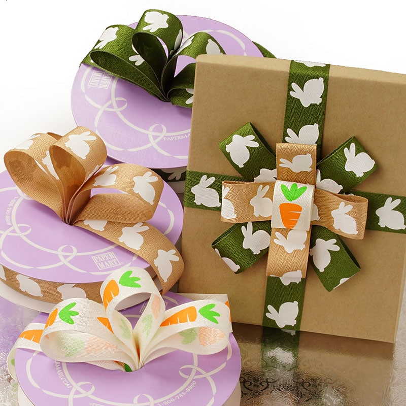 Easter Print Grosgrain Ribbon
