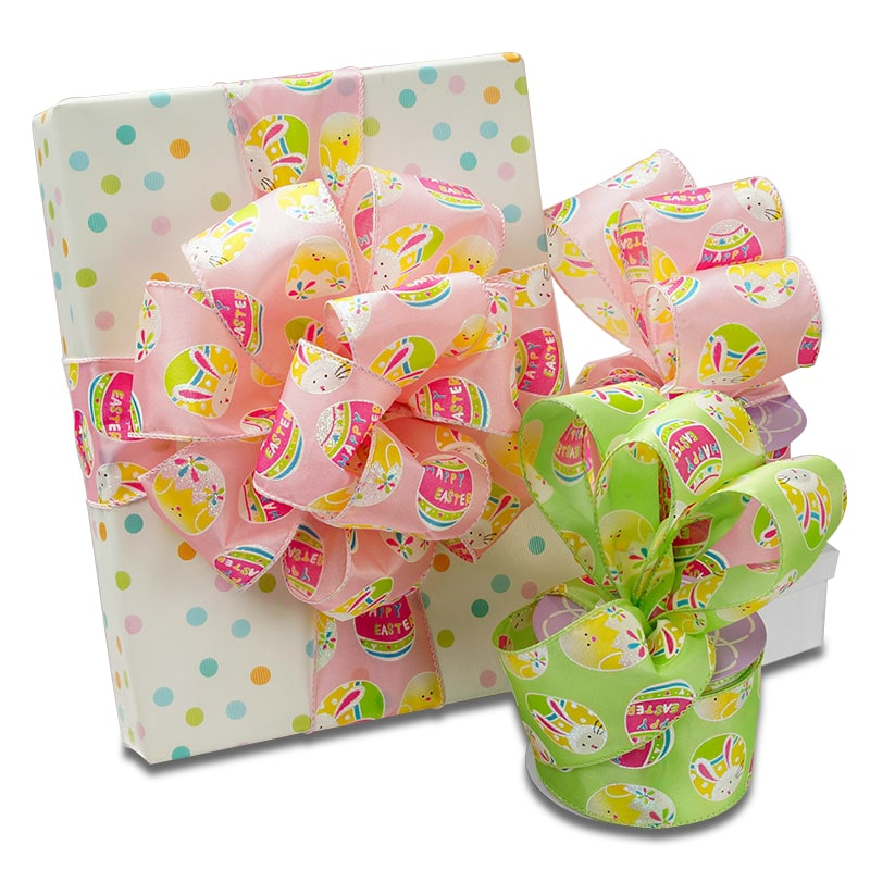 Decorated Easter Egg Ribbon