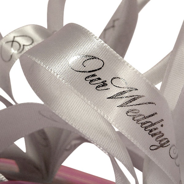 Printed Wedding Ribbons