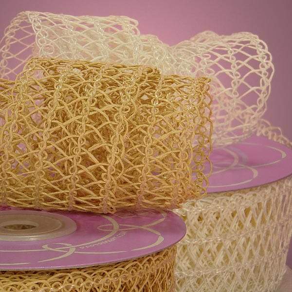 Felicity Natural Fabric Ribbon