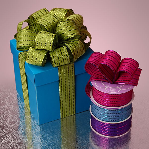 Twisted Line Fabric Ribbon