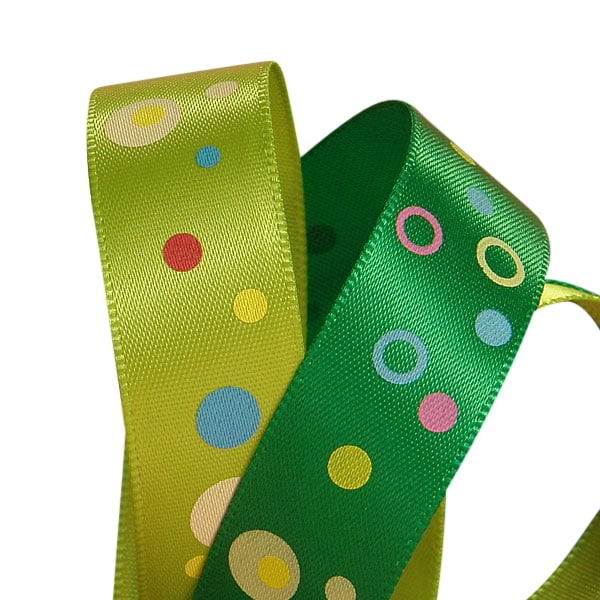 Mod Dots Satin Ribbon