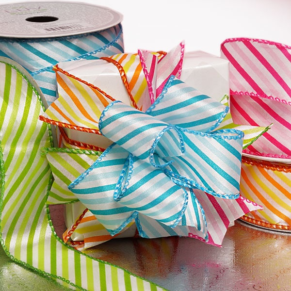 Summer Striped Ribbons