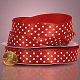 Satin Polka Dot Ribbon