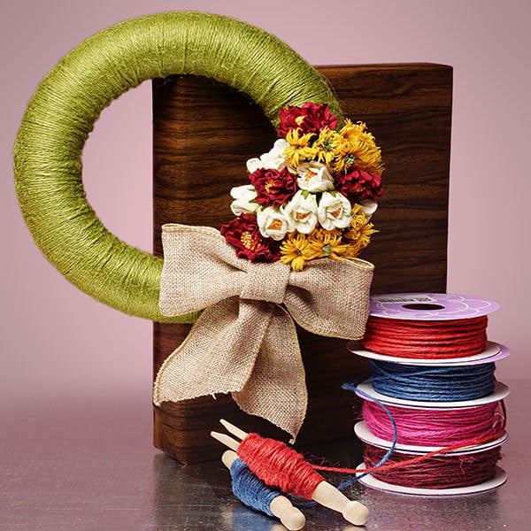 Colored Jute Twine: 1.5MM by 100 YDS, 3MM by 25 YDS ...