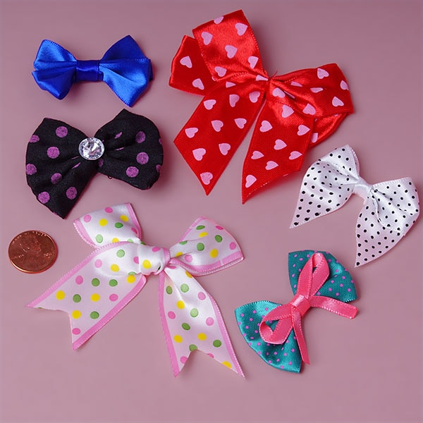 Pre-Tied Assorted Bows