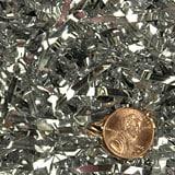 Mirrorized Metallic Shred - Silver