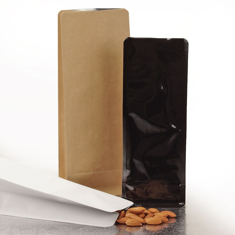 Square Bottom Gusseted Food Pouches