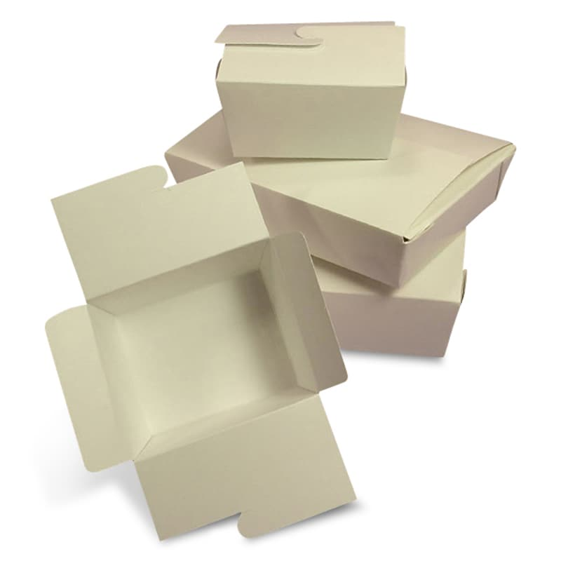 Eco-Pak White Take-Out Boxes