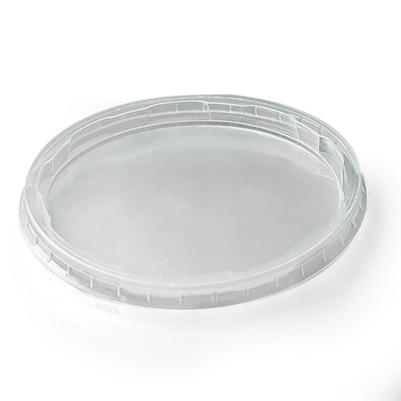 Clear Round Polypropylene Food Lids