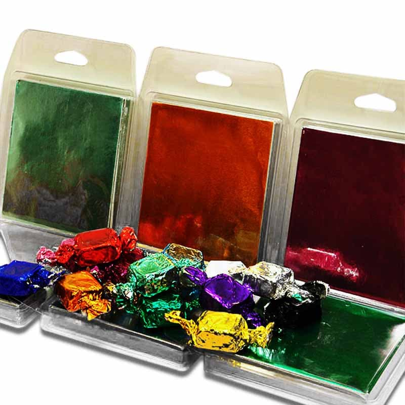 Square Foil Candy Wrappers