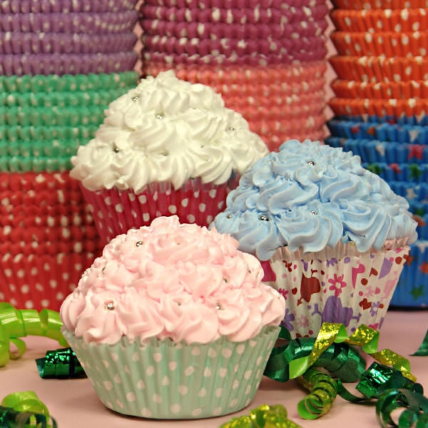 Baking Cups – Assorted Colors