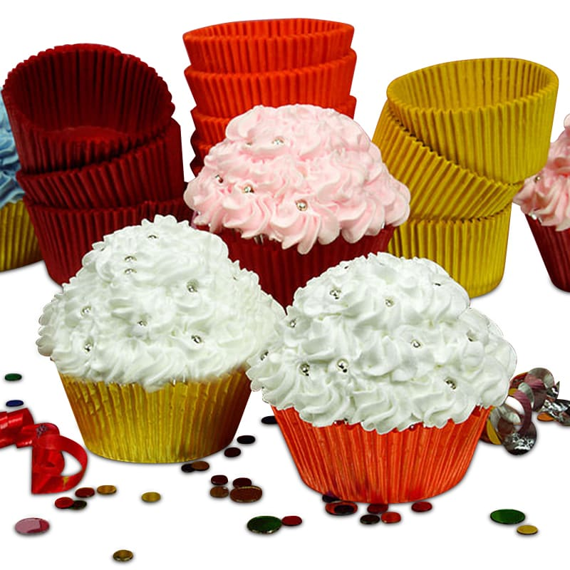 Colored Glassine Cupcake Baking Cups