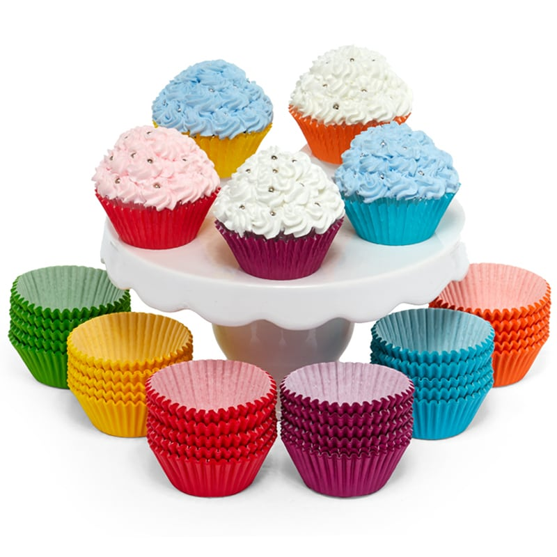 Colored Grease Proof Baking Cups